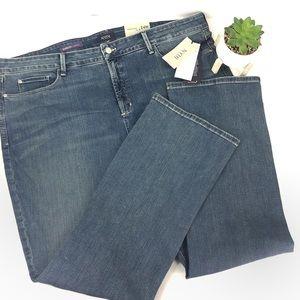 NYDJ Barbara Bootcut denim jeans Size 24W